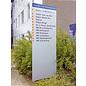 Reclamezuil T 10 66x250 cm platte kolom