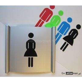 Toiletbord dames wandmodel