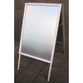 Beschermplastic voor stoepbord set (B1) 70x100 cm