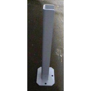 Voetplaat voor bevestiging op harde ondergrond bewegwijzering S60