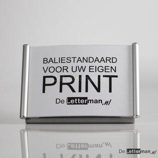 Baliebordje voor eigen print, baliestandaard A5