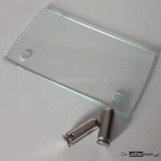 Baliebord alleen gebogen glas VERVANGING