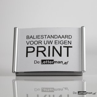 Baliebordje voor eigen print, baliestandaard A6