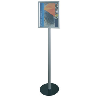 Corona maatregel 1.5 mtr afstandbord op standaard
