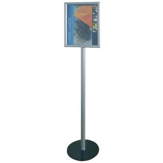 Corona maatregel 1.5 mtr houd afstandbord op standaard