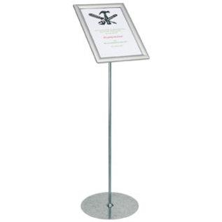 Corona afstandhouden bord op standaard