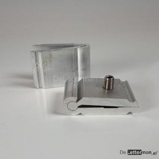 Div. Aluminium klemslotjes voor verbinding Aluminium systeem