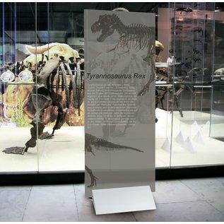 Displayvoet 40 cm Plaatklem