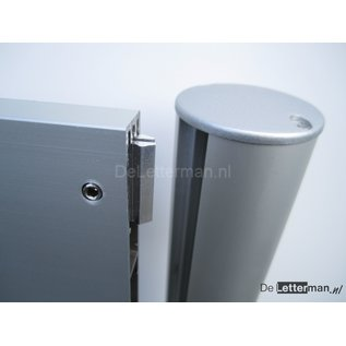 Huismerk Reclamebord 10-30x100 frame, paneel systeem