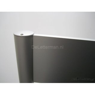 Reclamebord 30x75 frame paneel systeem