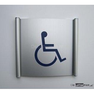 Toiletbord invaliden wandmodel