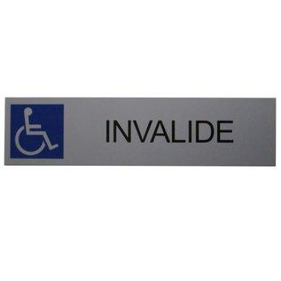 Parkeerbord Invalide wandmodel