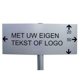Parkeerbord Logo op paal Large