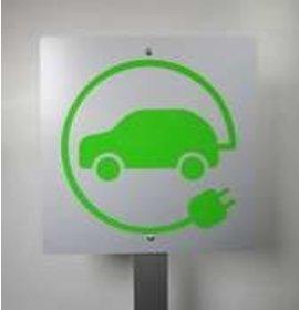 Opladen elektrische auto bord