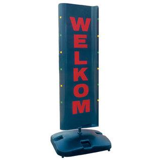 Tekstset lichtgrijs voor op stoepbord Topmover