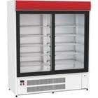 XXLselect Szafa chłodnicza | 1640x760x(H)1940mm | drzwi przeszklone | 550W