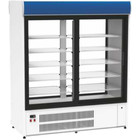 XXLselect Refrigerating cabinet 1640x760x (H) 1940mm | glazed glasses 550W