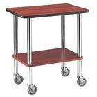 Diamond 2-shelf trolley | 710x460x (H) 780mm