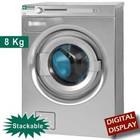Diamond Waschmaschine mit Trockner Dreh | 8 kg | Ablaufpumpe | 4600W | 595x700x (H) 850mm