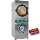 Diamond Waschtrockner 14 kg (elektrisch) + Rotationstrockner 18 kg (Gas) | TOUCH SCREEN | 12800W | 880x1196x (H) 2159mm