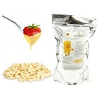 Callebaut Belgian white chocolate for fondue and fountains 1 kg