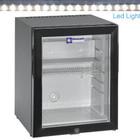 Diamond Minibar | drzwi szklane | 32L | 70W | 230/1N 50-60Hz| +4° +10° | 402x406x(H)500mm