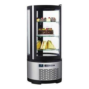 CaterCool Witryna chłodnicza, cukiernicza | 100L | 150W | 230V | Ø480x(H)1030mm