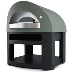 ALFA PRO Single kamer pizza oven Forno Opera   150 pizza's / h   1460x1500x (H) 1700mm   Hout zonder voet
