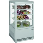 Saro Refrigerated mini display cabinet 70L | white + 2 / + 10 ° C | 170W | 230V | 430x380x (H) 880mm