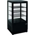 Saro Gekoelde-mini geventileerde | 70L | zwart | + 2 / + 10 ° C | 170W | 230 | 430x380x (H) 880mm