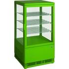 Saro Witryna chłodnicza mini wentylowana | 70L | zielona | +2/+10 °C | 170W | 230V | 430x380x(H)880mm