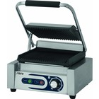 Saro Electric contact grill PG 1 | grooved | 50 - 300 ° C 1800W | 230V | 320x410x (H) 190mm