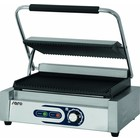 Saro Electric contact grill PG 1B | grooved | 50 - 300 ° C 2200W | 230V | 440x410x (H) 190mm