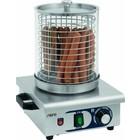 Saro HW kachel voor hot dogs 1 | 0 / + 110 ° C | 450W | 230 | 250x280x (H) 410mm