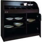 Saro Cutlery cabinet BS 100 | wenge color 1000x400x (H) 1065mm