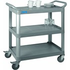 Saro 3-plate waiter trolley made of plastic 845x430x (H) 950mm