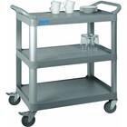 Saro Wózek kelnerski 3-półkowy z tworzywa | 845x430x(H)950mm