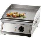 Saro Electric grill, smooth - 385x390 mm
