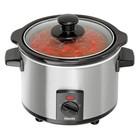 Bartscher Mini food heater 1.5L | 105W | 230V | 65 ° C - 75 ° C 230x220x (H) 200mm