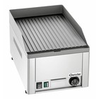 Bartscher GDP 320E grill plate grooved | 3000W | 230V | 325x580x (H) 310 mm