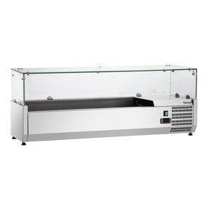 Bartscher Nadstawa chłodnicza GL4 5 x 1/4 GN | 0 °C - 10 °C | 166W | 230V | 1200x345x(H)425mm