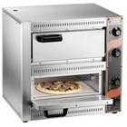 Saro Piec do pizzy 2-komorowy 2x 2500W | 2x Ø 33cm