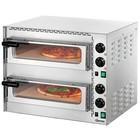 Bartscher Piec do pizzy 2-komorowy 3400W | 2x Ø 35cm