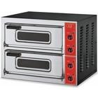 GGF Piec do pizzy 2-komorowy 8000 W | 2x Ø 50cm | 400V