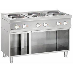 Bartscher Kuchnia elektryczna 6 płytowa | 15600W