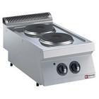 Diamond Kuchnia elektryczna 2-płytowa nastolna | 2x 2,6kW | 400x700mm