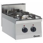 Bartscher 2-palnikowa kuchnia gazowa Seria 600
