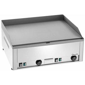 Bartscher Płyta grillowa elektryczna gładka nastawna | 650x480mm | 6000W