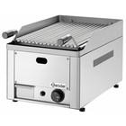 Bartscher Lawa-grill stołowy z rusztem grillowym do mięsa - gazowy - 312 x 483 mm
