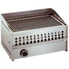 XXLselect Gazowy grill lawowy | stal nierdzewna | 8Gkw | 600x390x(H)350mm